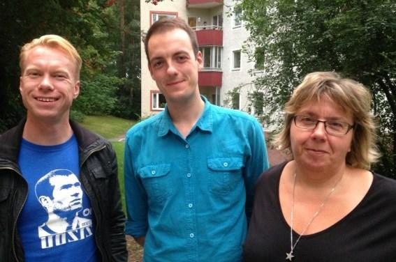 Jesper, Michael och Marielle