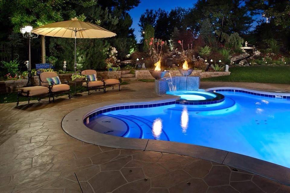 Pool Deck, Patio, & Sidewalk Flooring Designs In Westlake, TX on Pool Deck Patio Ideas  id=24288
