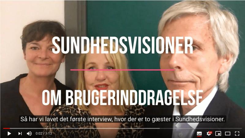 Lyt med på torsdag i podcasten Sundhedsvisioner