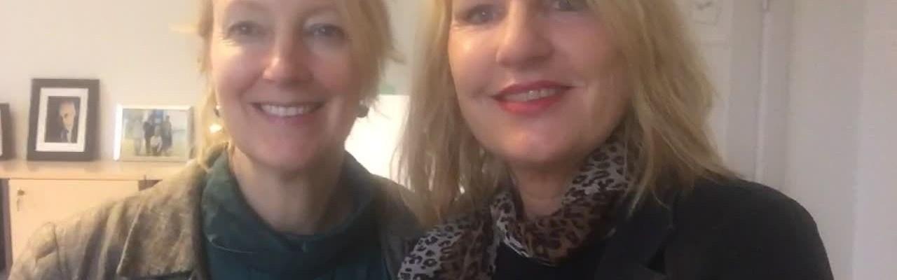 Line Gade og Inge Kristensen i podcasten Sundhedsvisioner