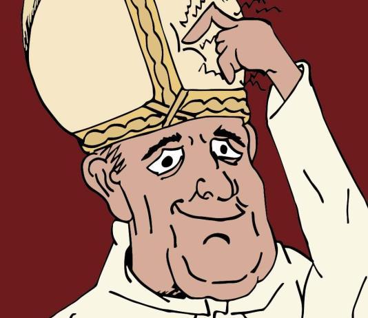 Illustration of Pope.