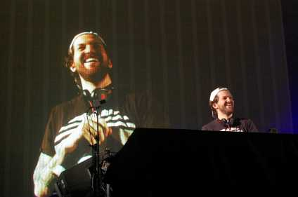 Dillon Francis played his fourth annual IDGAFOS Weekend concert series at the Shrine Auditorium and Expo Hall in Los Angeles on Dec. 18, 2015.