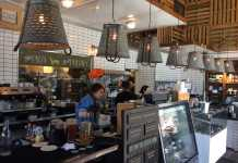 interior of sage organic bistro pictured