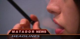 Matador news still shows woman smoking