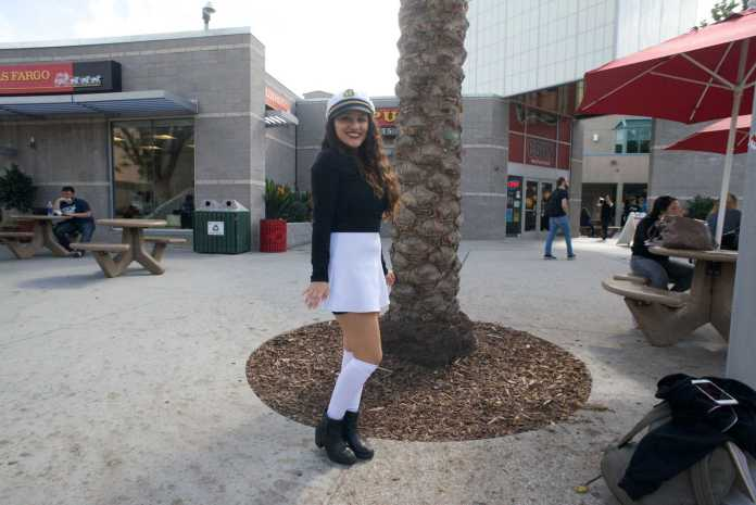 Student dresses up as sailor
