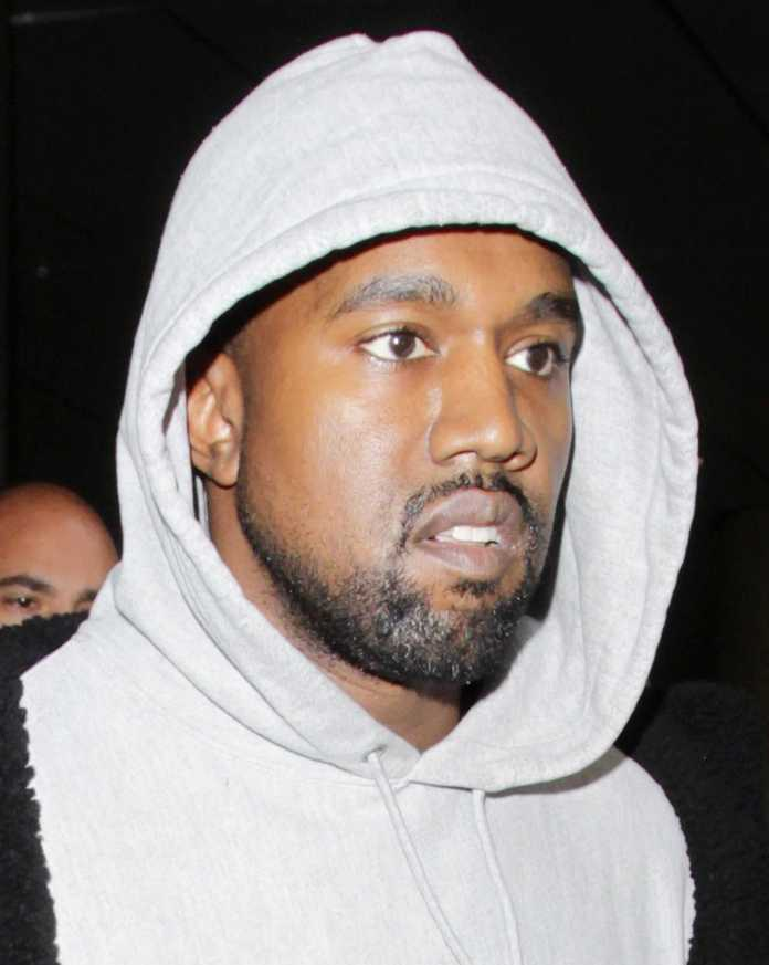 Kanye West close-up