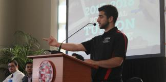 President of associated students speaks about the proposal to increase CSUN tuition