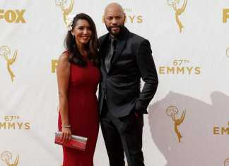 Gayle and John Ridley at the emmys