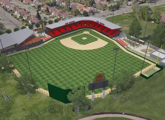 CSUN baseball field plans are illustrated