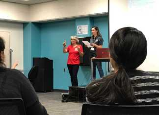 students discuss the sexual assualt of deaf and hard of hearing people