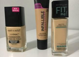 picture of foundation in light to medium skin tones