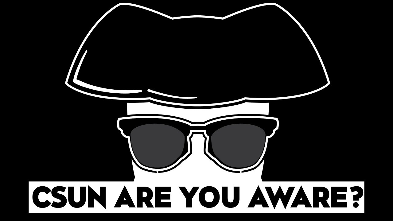Color printing csun - Csun Are You Aware Logo