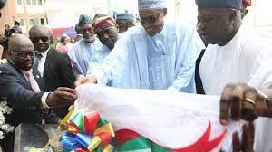 Oshodi road: President Buhari come commission projects wey neva complete -  Lagos pipo para - BBC News Pidgin