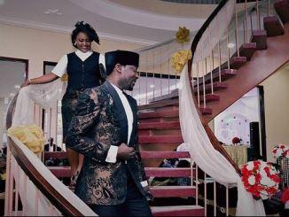 Nigerian Actor John Njamah And Wife Celebrate 5th Wedding Anniversary