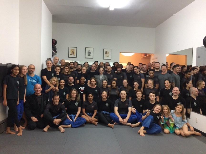 Pictures from NO-GI seminar with Professor Owen & Blue Belts!