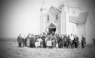 Sundown Ukrainian Orthodox Church Parishioners (1940s)