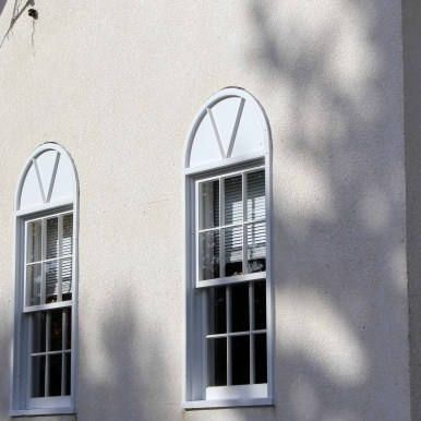 Newly installed south side windows (09-Oct-2013)
