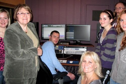 Veed Zhodoo Sontsya - In the studio