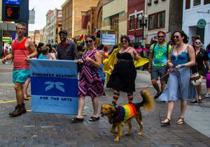 outspoken parade