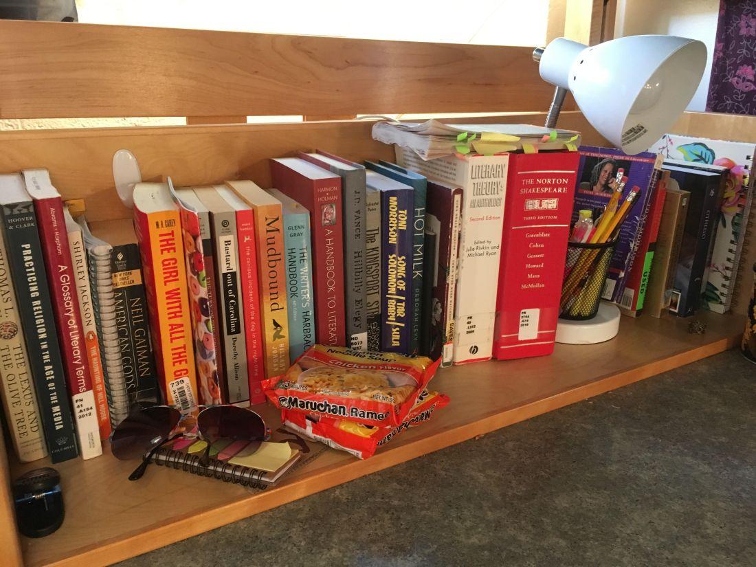 valerie lick project bookshelf pic