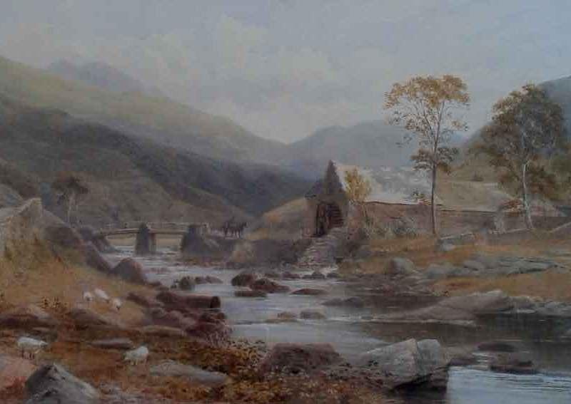 Beddgelert, Snowdonia, Albert W Ayling
