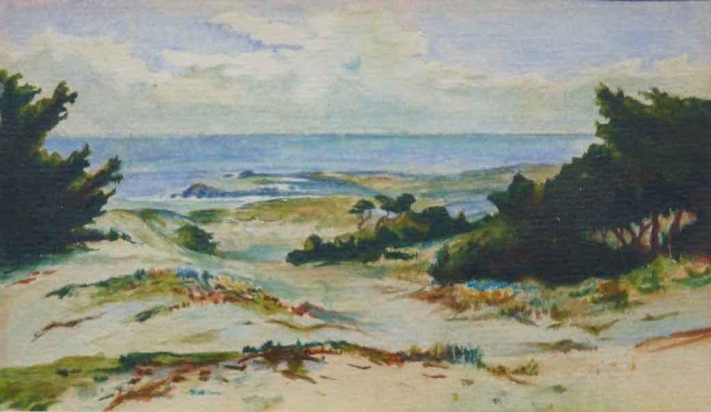 Coastal study seascape FL Blanchard