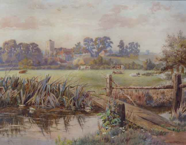 View of Watermeadows at Brasted, Berry Francis Berry