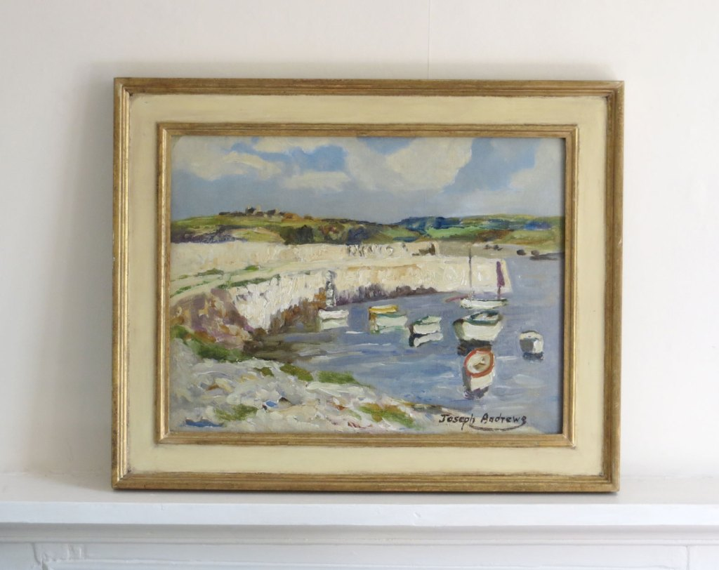 Joseph Andrews oil painting of Anglesey