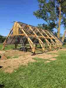 84 Panel Aframe Solar Net Metering