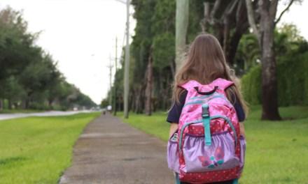 Walking to School with Suzie