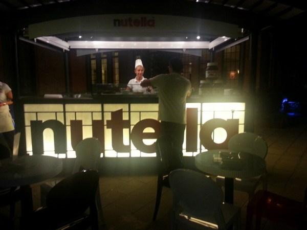 Nutella Stand in Venice