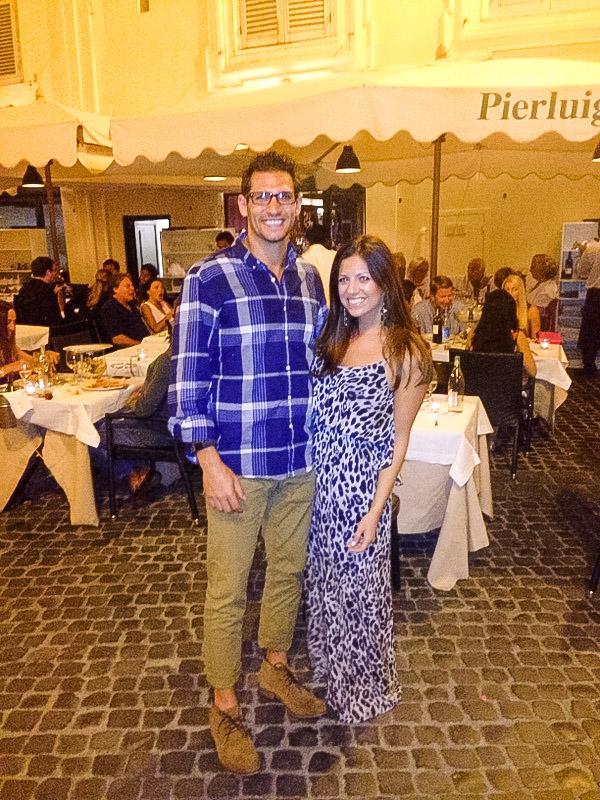 Pierluigi Rome restaurant, Rome travel guide