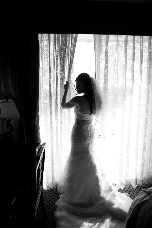 Jaime Cittadino Wedding, Window Shot