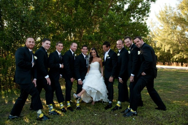 matching socks for Groomsmen