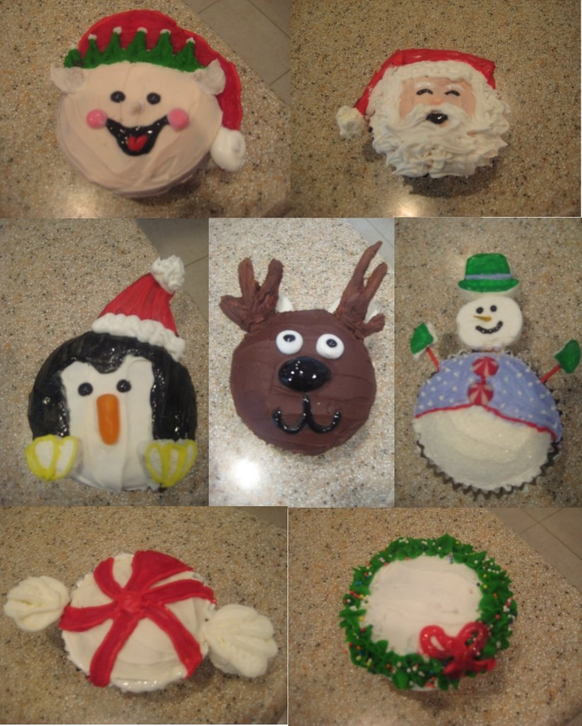 Holiday Cupcakes 1
