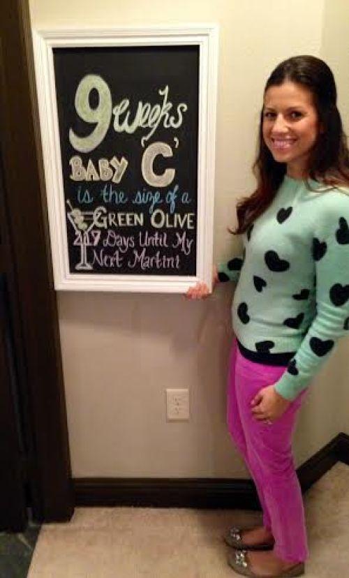 9 weeks pregnant