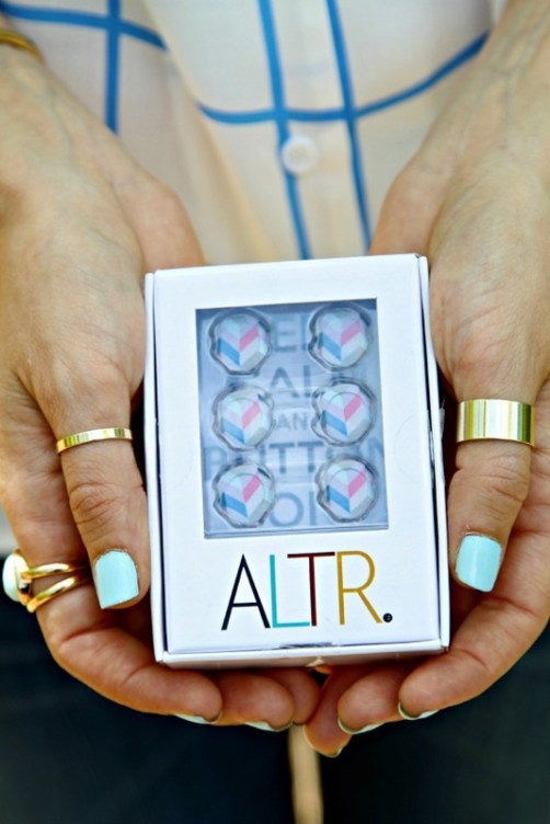 ALTR Button Covers