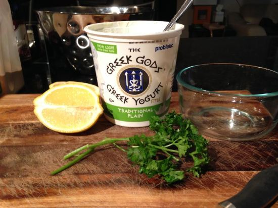 Greek Yogurt Sour Cream