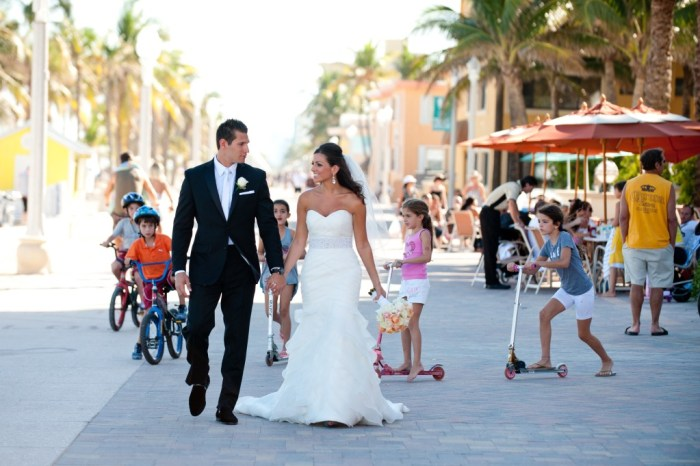 Hollywood Beach wedding