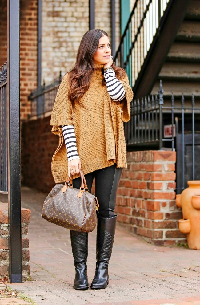 Poncho Sweater, Cape Sweater