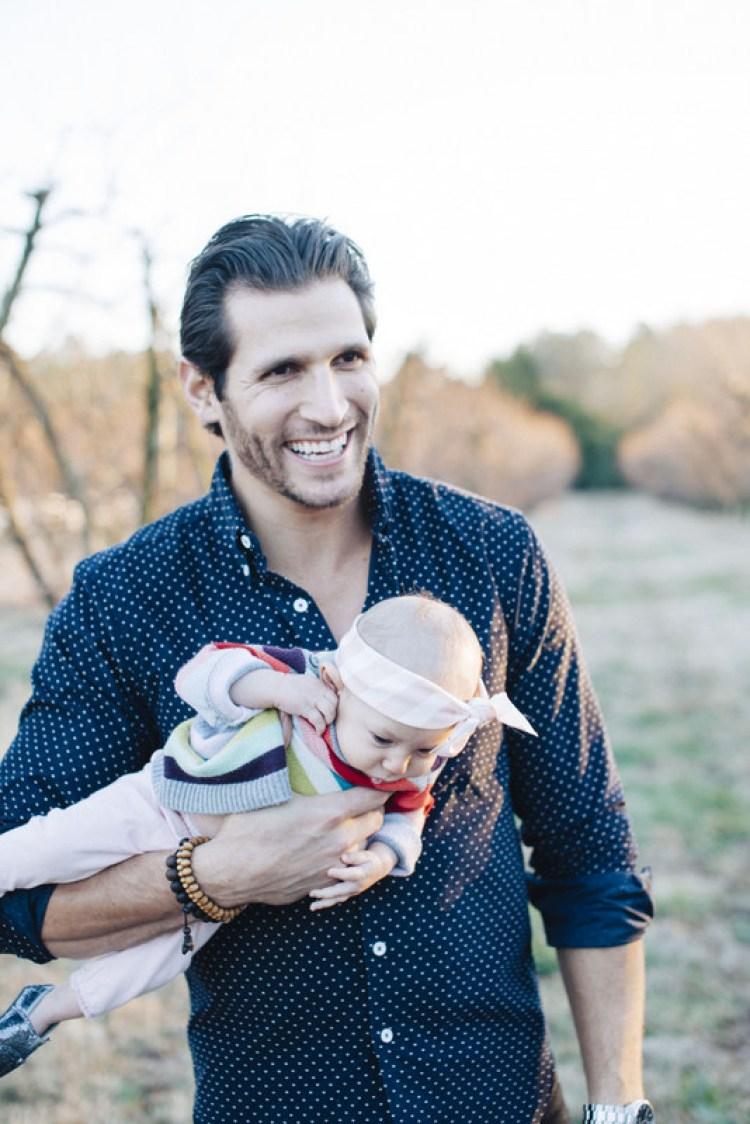 Casey Cittadino, family holiday photo