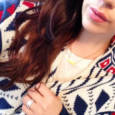 SheInside Tribal Sweater