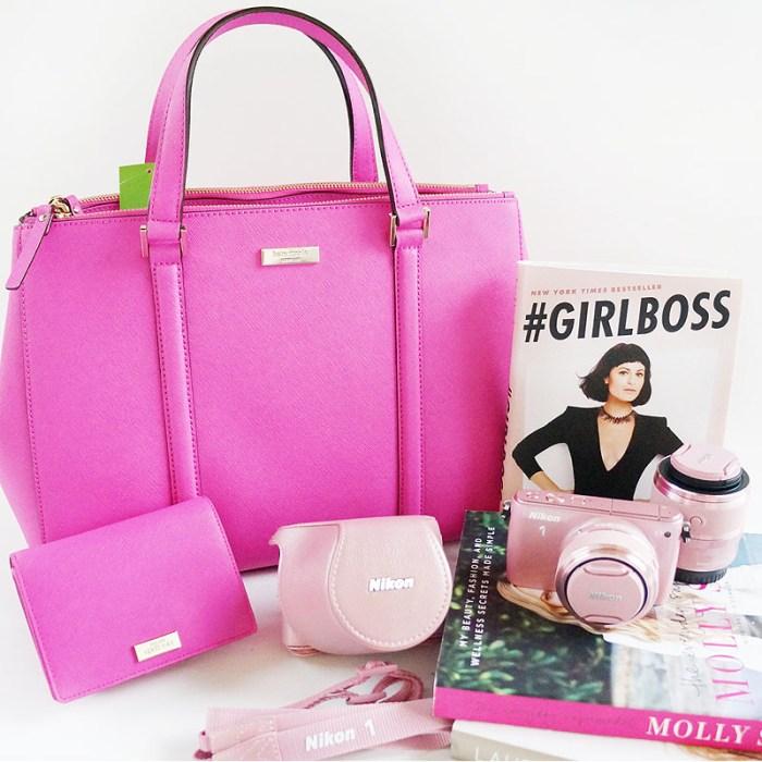 Pink Kate Spade and Nikon Giveaway