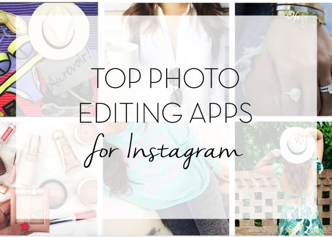 Top Photo Editing Apps for Instagram
