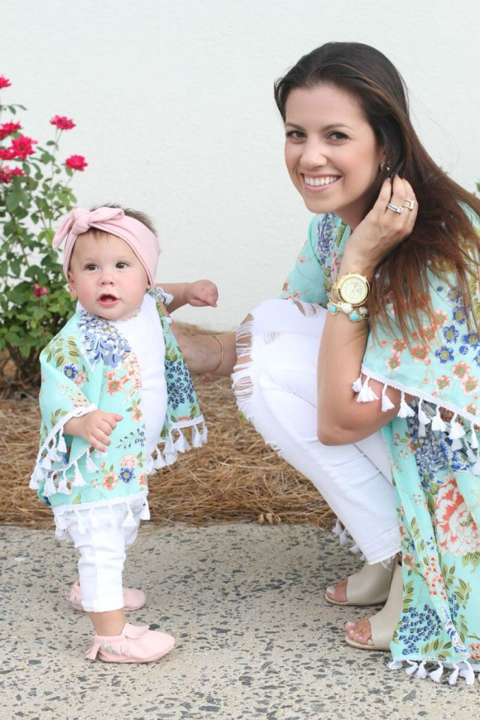 Baby Girl Kimono, Mommy and Me Photoshoot