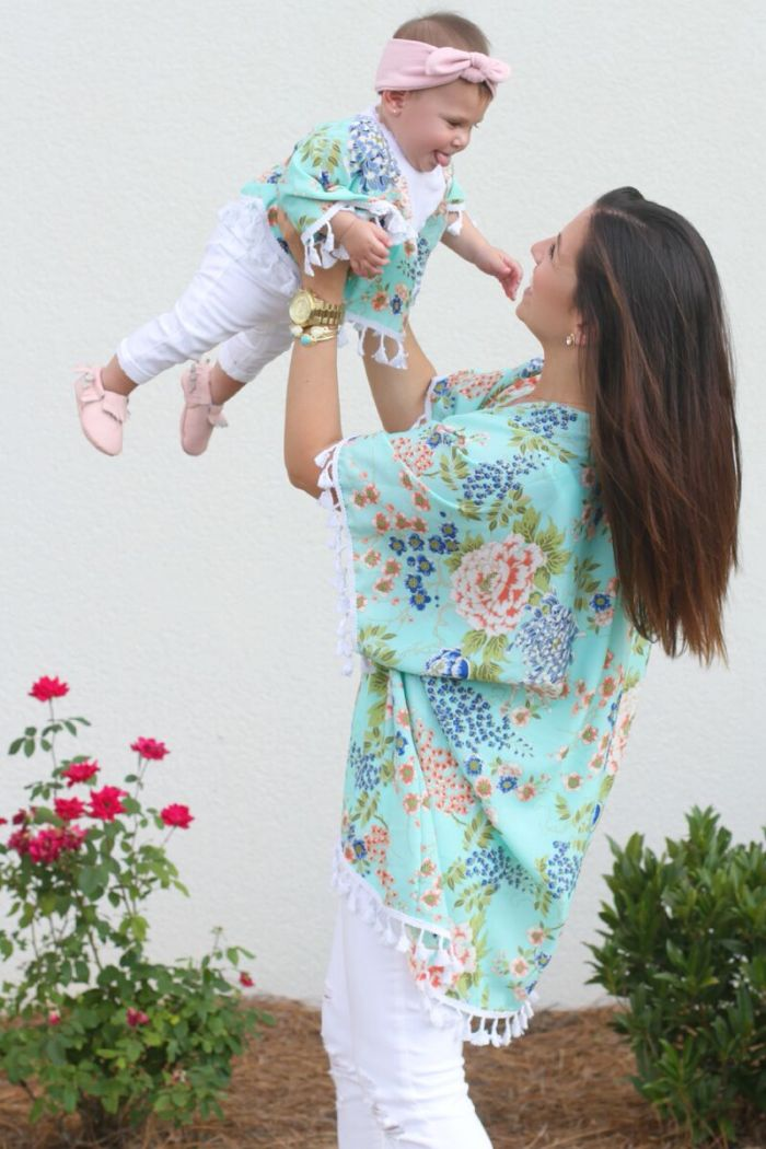 Sunflowers and Stilettos blog, Mommy and Me