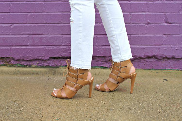 Dolce Vita Tyler gladiator style heels