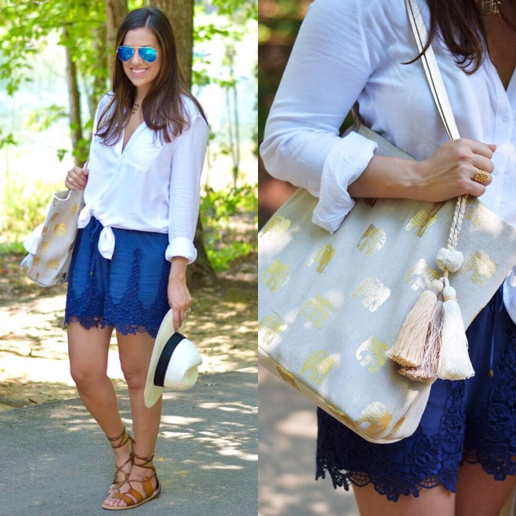 Anthropologie Lace Shorts