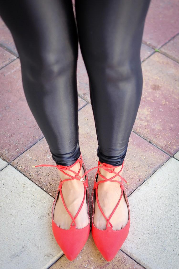 top shop lace up flats