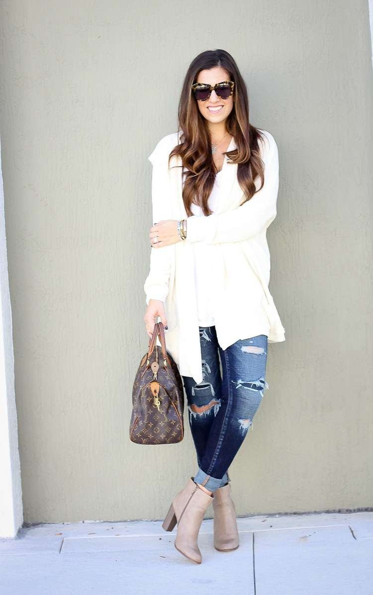 cozy chic style, Jaime Cittadino, Florida Fashion Blogger